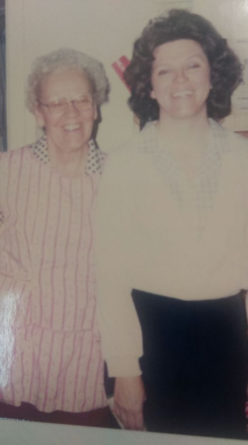 Grandma & Mom